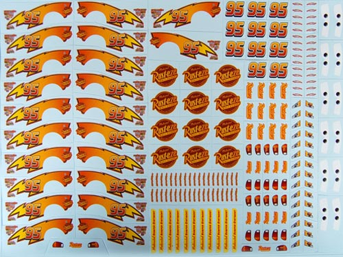 Custom Print Scale Model Kits Decals