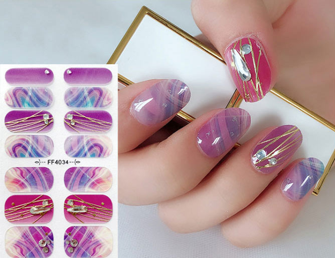 Glass Diomond 3D Nail Stickers